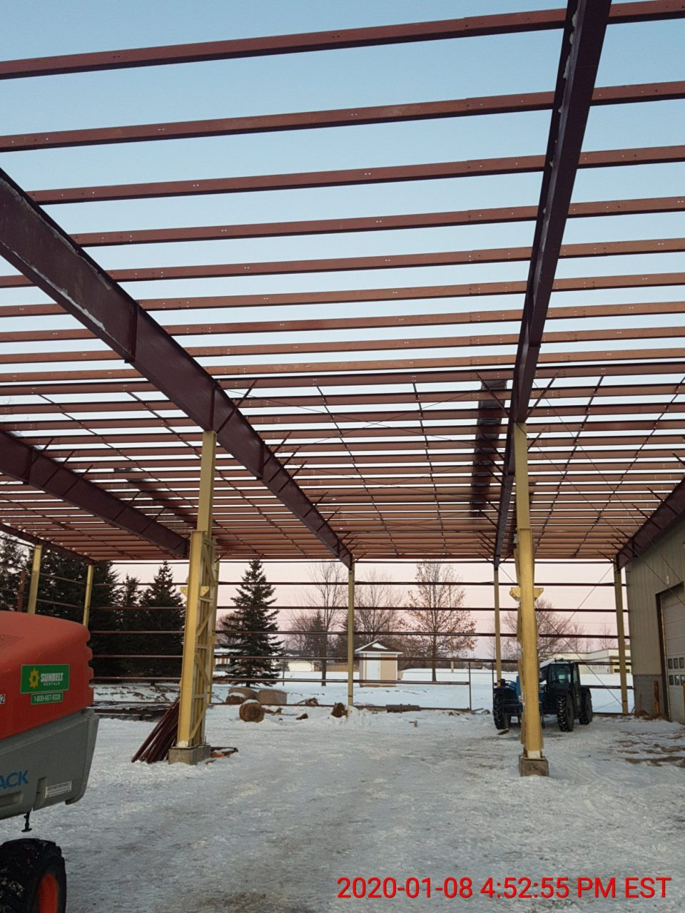 Project Spotlight April - TS Manufacturing - SteelCan Building Systems - BB Gunn Contracting Ltd